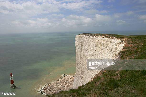 Lighthouse, Beachy Head, Eastbourne, East Sussex, England, UK