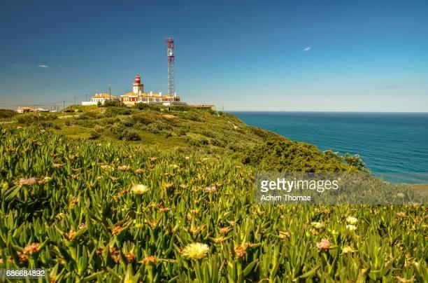 lighthouse, cabo de roca, portugal, europe - achim thomae stock-fotos und bilder