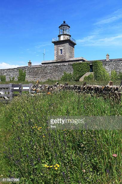 Lighthouse in Barneville-Carteret, Normandy, France
