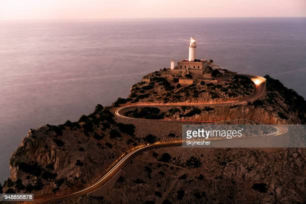 Lighthouse in Cap de Formentor, Mallorca.