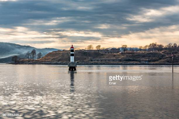 Lighthouse in Drobak Norway