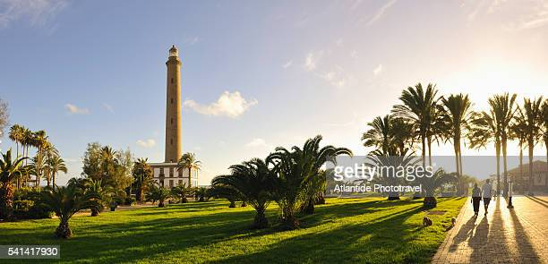 Lighthouse in Maspalomas on Gran Canaria