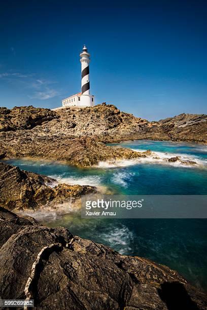 menorca の灯台 - ミノルカ ストックフォトと画像