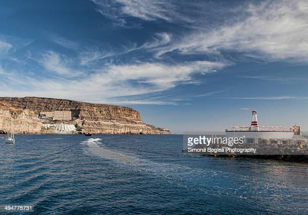 Lighthouse in Puerto de Mogan