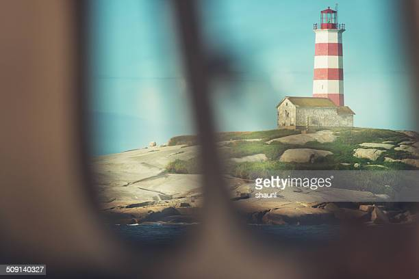 30 Top Red And White Striped Lighthouse Pictures, Photos and