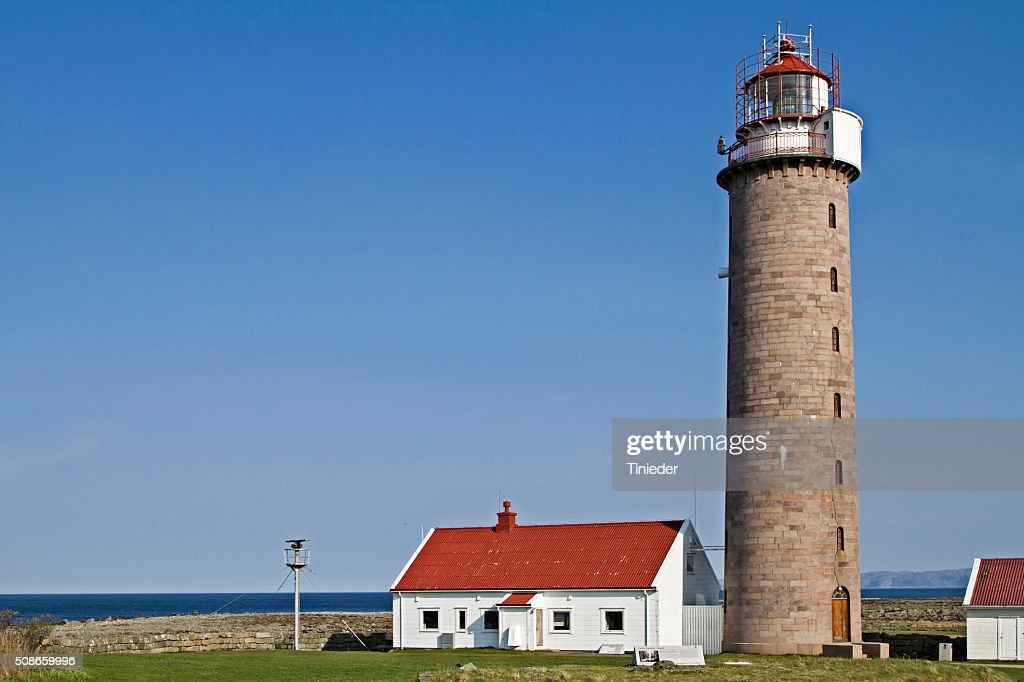 lighthouse Lista Fyr : Stock Photo