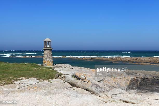 Lighthouse monument near Gatteville lighthouse (Phare de Gatteville), Normandy/ France