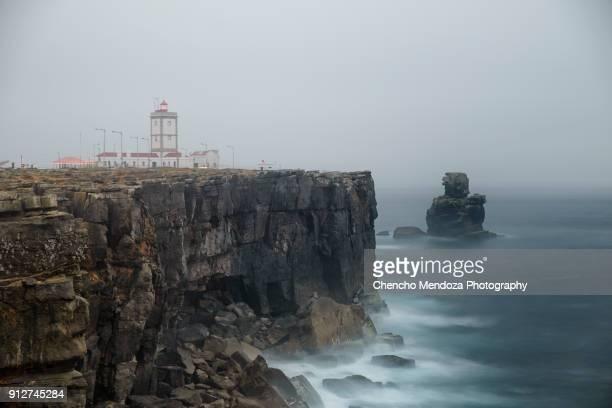 Lighthouse of  Carvoeiro Cape