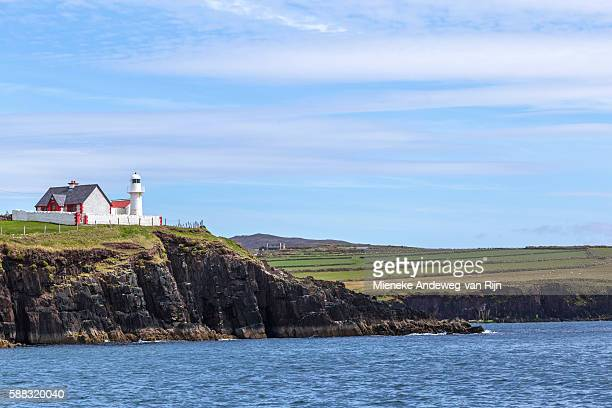 Lighthouse of Dingle, viewed from Dingle Bay, Dingle Peninsula, County Kerry, Republic of Ireland