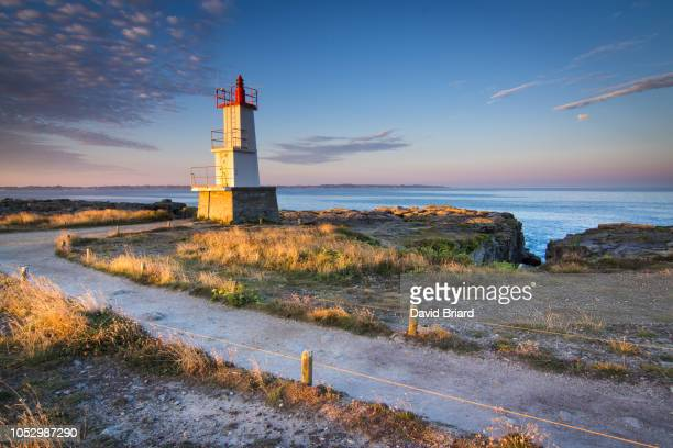 """lighthouse of kerroc""""u2019h - golfe du morbihan photos et images de collection"""