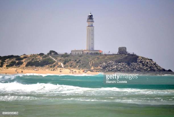 Lighthouse of Trafalgar in Barbate Cadiz