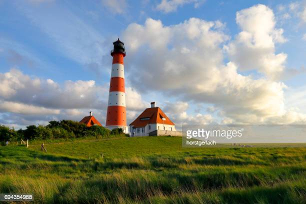 Lighthouse of Westerhever, Germany