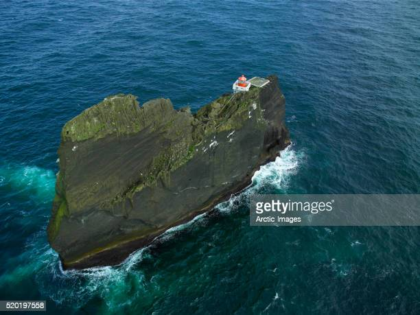 Lighthouse on Thridarangar cliffs