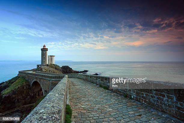 Lighthouse 'Phare du Petit Minou' in France
