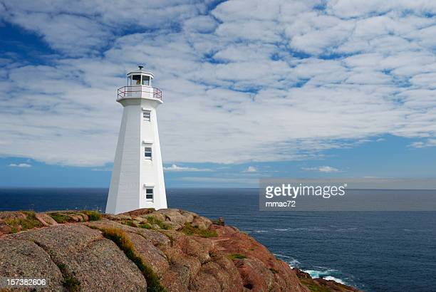 lighthouse - st. john's newfoundland stock photos and pictures