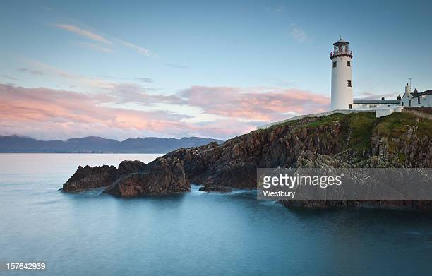 lighthouse - county donegal stock photos and pictures