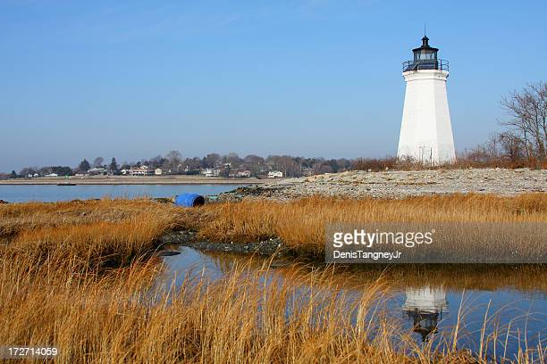 lighthouse - connecticut stock pictures, royalty-free photos & images