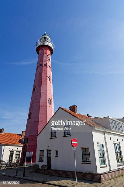 lighthouse - the hague stock pictures, royalty-free photos & images