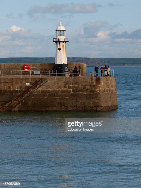 Lighthouse St Ives Cornwall UK