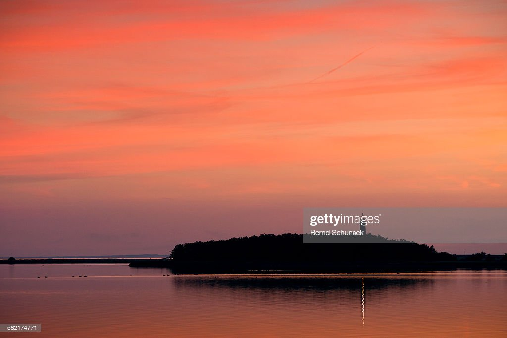 Lighthouse sunset : Stock-Foto
