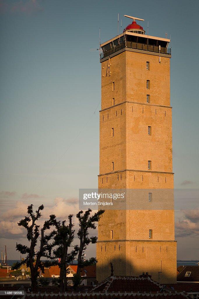 Lighthouse the Brandaris. : Stockfoto