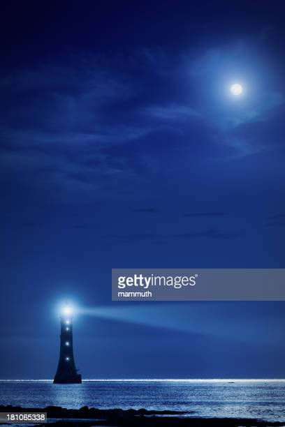 lighthouse the night