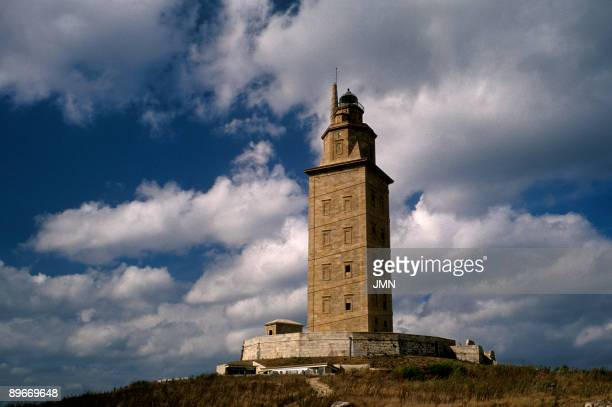 Lighthouse Tower of Hercules La Coruna It is one of the oldest active Roman lighthouses in the world The Tower of Hercules is a Roman lighthouse from...