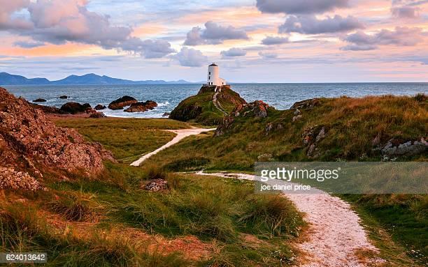 Lighthouse Twr Mawr, Llanddwyn Island, Anglesey, Wales