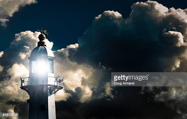 Lighthouse with beacon