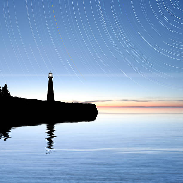 XXXL lighthouse with stars