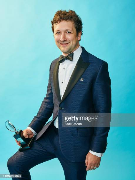 Lighting designer Bradley King of Hadestown poses for a portrait during the 73rd Annual Tony Awards on June 09 2019 in New York City