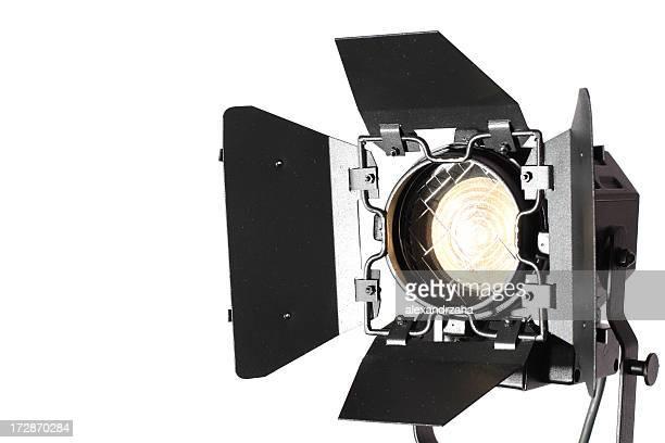 equipamento de iluminação para close-up. - spotlight filme - fotografias e filmes do acervo