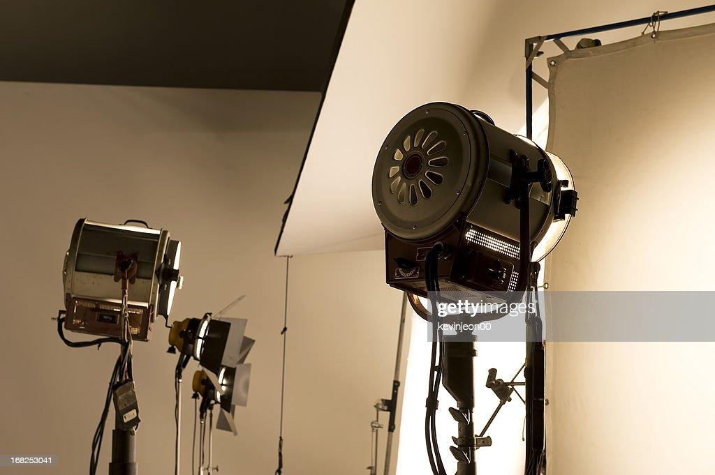Lighting equipment. : Stock Photo