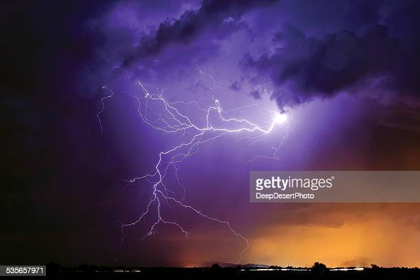 Lightning, Arlington, Arizona, America, USA
