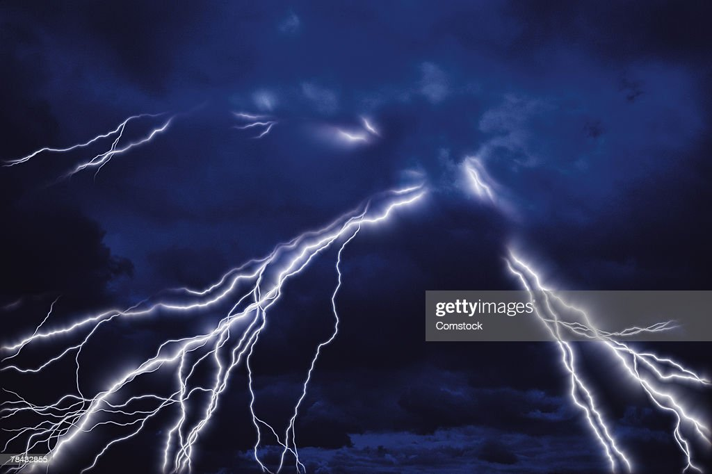 Lightning bolts : Stockfoto