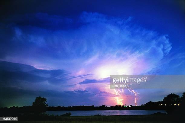 Lightning in Distance