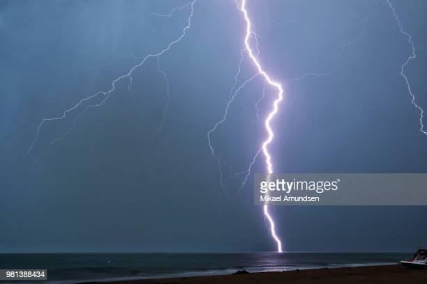 Lightning in Italy