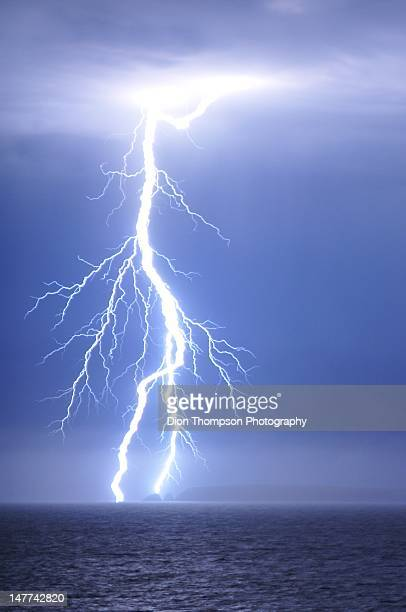 Lightning over Cape Wiles