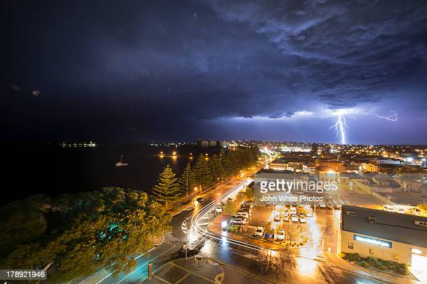 Lightning over Port Lincoln, South Australia