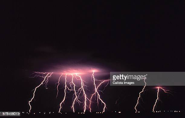 Lightning photograph from NOAAs National Severe Storms Laboratory (NSSL) Collection