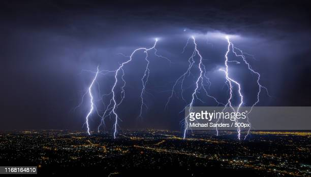 lightning - lightning stock pictures, royalty-free photos & images
