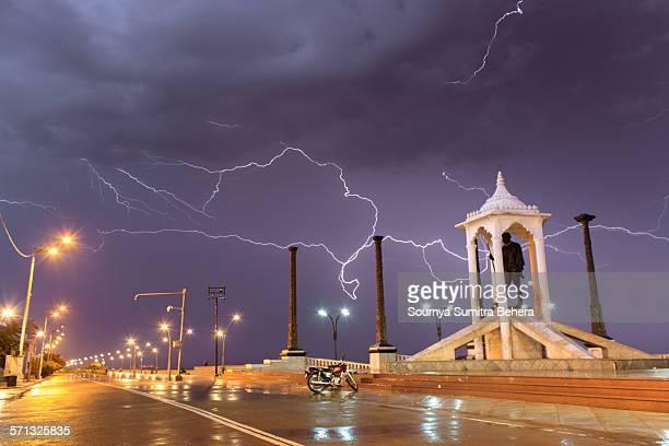 Lightning Strike in Pondicherry