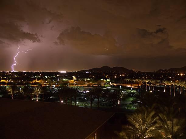 Lightning Strikes in the Sonoran Desert | Photos.com