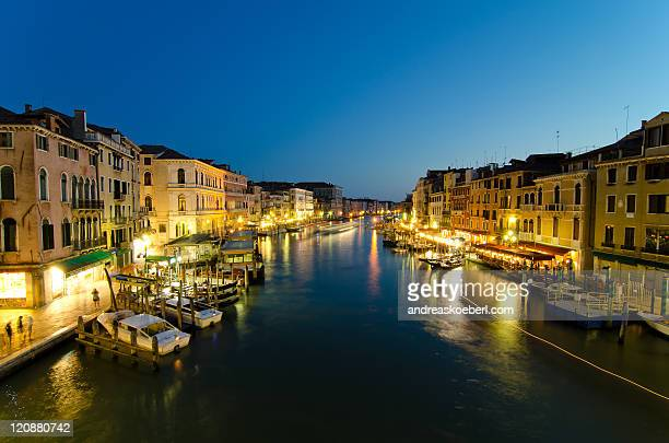 Lights at canal Grande