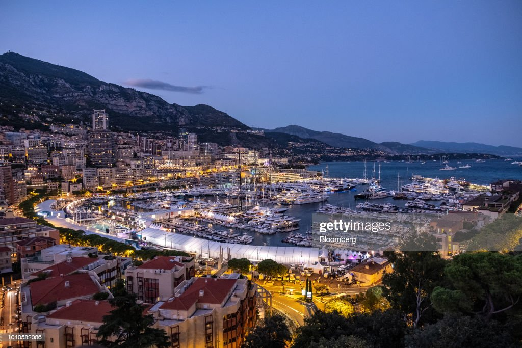 Port Hercules Ahead Of 2018 Monaco Yacht Show