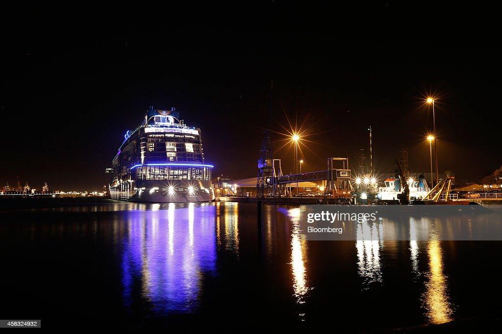 Aboard Royal Caribbean Cruises Ltd.'s New Ship Quantum Of The Seas : News Photo