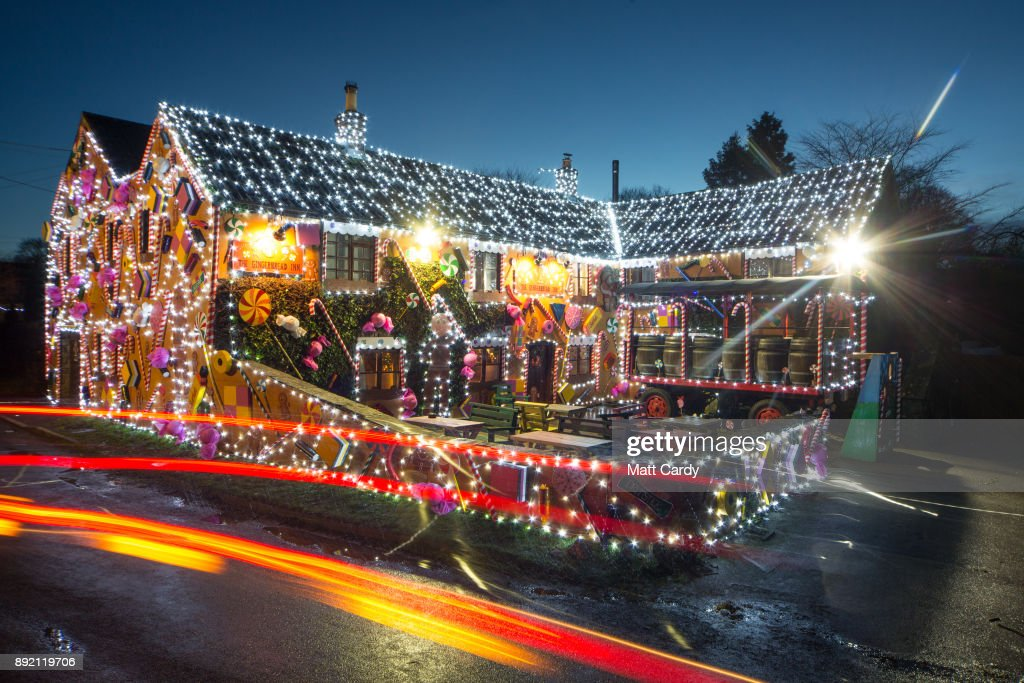 Somerset Pub Transformed into Gingerbread Inn for Christmas