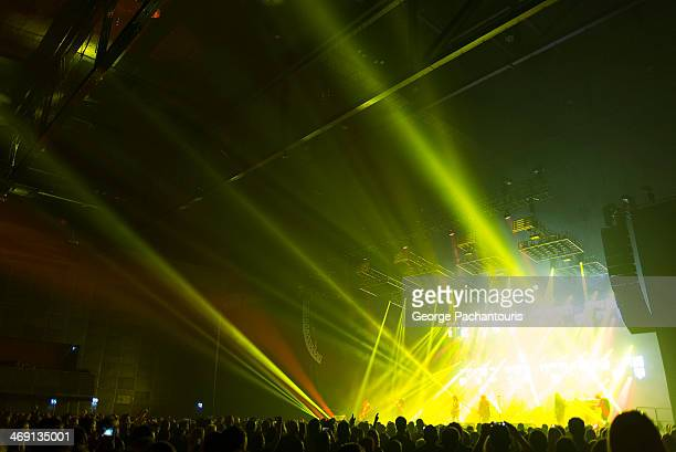 lights in a concert hall - concert hall stock pictures, royalty-free photos & images