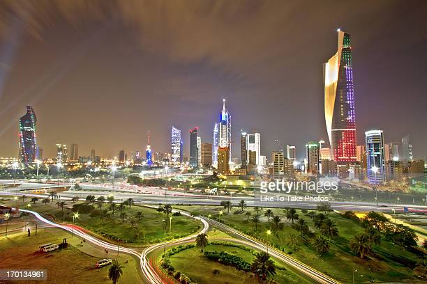 Lights Of Kuwait City