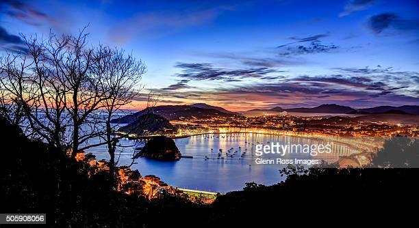 Lights of San Sebastian